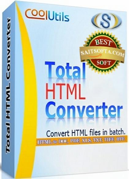 Total HTML Converter 5.1.117 + ключ [На русском]