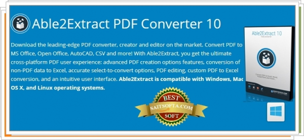 Able2Extract PDF Converter 10.0.7.0 Final + crack (2016) ENG