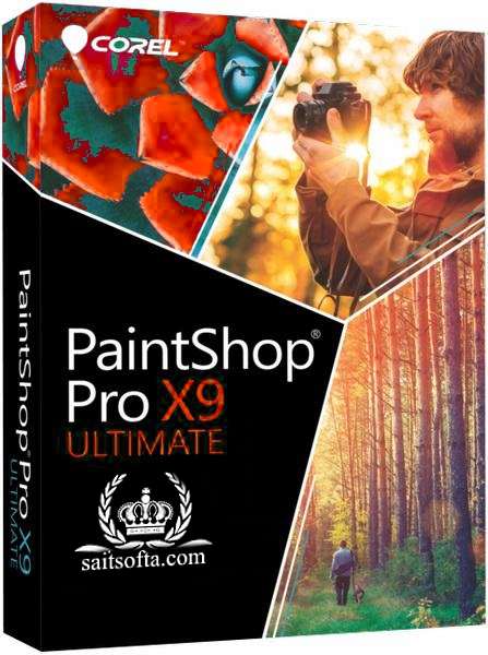 Corel PaintShop Pro X9 Ultimate 19.1.0.29 + Content / keymaker [На русском]