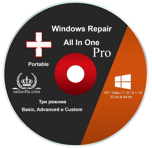 Windows Repair Pro 3.9.23 + cracked (2017) ENG + Portable