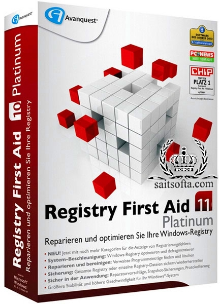 Registry First Aid Platinum 11.0.2 Build 2455 + crack [На русском]