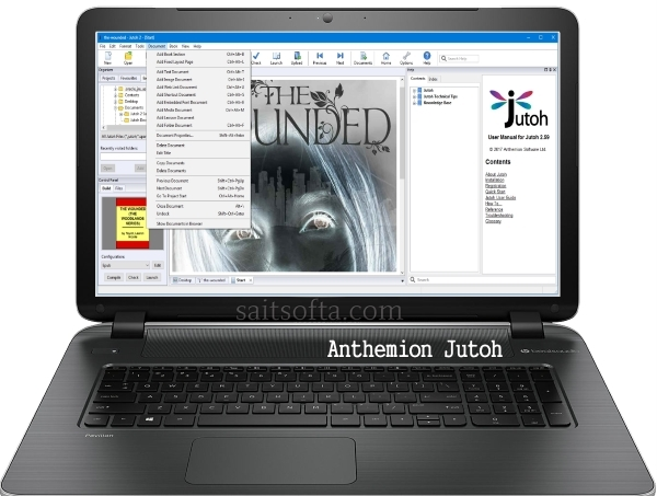 Anthemion Jutoh 2.60 + keygen (2017) ENG + Portable